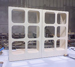 Collapsing Display Cabinets for Convention Shows